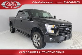 2016 Ford F-150 XLT 4 Door 4X4 5.0L V8 FFV Engine Automatic Truck