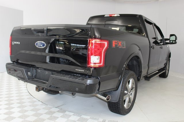2016 Shadow Black Ford F-150 XLT 4 Door 5.0L V8 FFV Engine Automatic 4X4