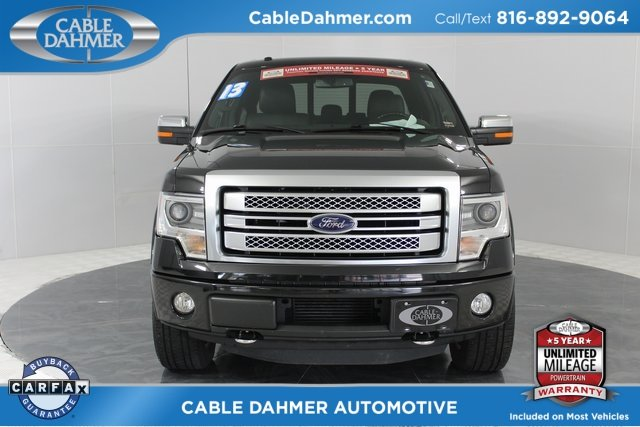 2013 Ford F-150 Platinum 4 Door 4X4 Truck Automatic