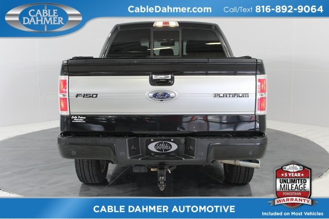 2013 Ford F-150 Platinum EcoBoost 3.5L V6 GTDi DOHC 24V Twin Turbocharged Engine Automatic Truck 4 Door