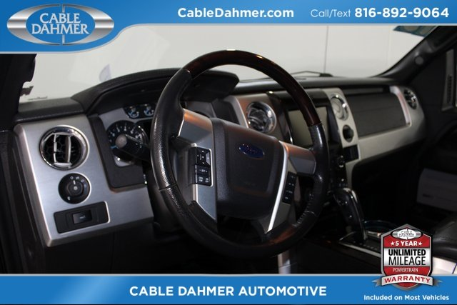 2013 Ford F-150 Platinum Truck 4 Door EcoBoost 3.5L V6 GTDi DOHC 24V Twin Turbocharged Engine