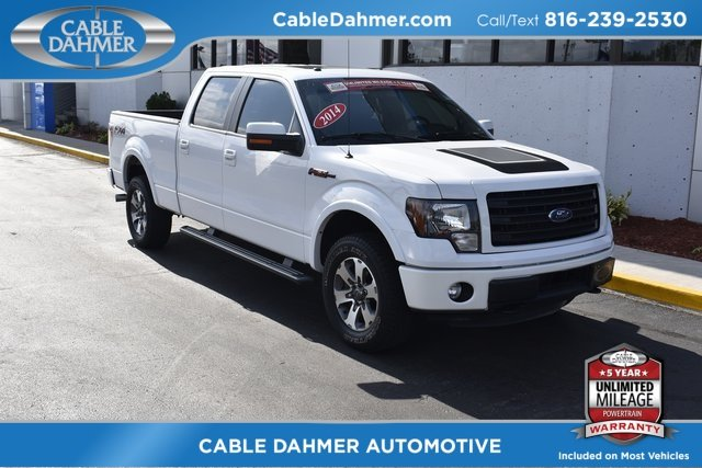 2014 Oxford White Ford F-150 FX4 Automatic Truck EcoBoost 3.5L V6 GTDi DOHC 24V Twin Turbocharged Engine