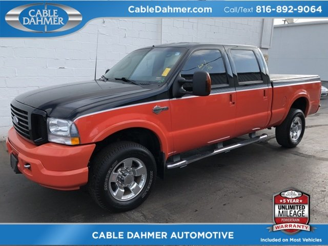 2004 Ford Super Duty F-250 Harley-Davidson Power Stroke 6.0L V8 DI 32V OHV Turbodiesel Engine Automatic 4 Door 4X4 Truck