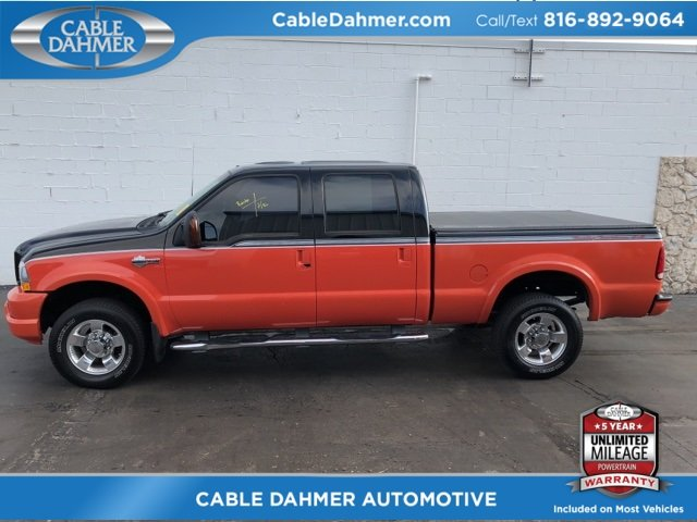 2004 Ford Super Duty F-250 Harley-Davidson Truck Power Stroke 6.0L V8 DI 32V OHV Turbodiesel Engine Automatic 4 Door 4X4