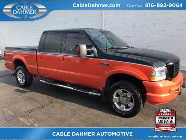 2004 Ford Super Duty F-250 Harley-Davidson 4 Door Truck Power Stroke 6.0L V8 DI 32V OHV Turbodiesel Engine 4X4 Automatic