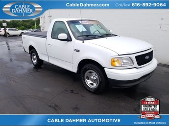 2002 Oxford White Ford F-150 XL 2 Door RWD Truck 4.2L V6 EFI Engine Automatic