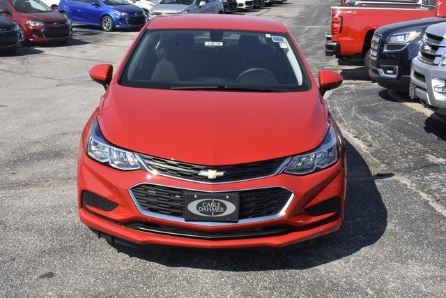 2018 Red Hot Chevrolet Cruze LS FWD 4 Door Automatic Sedan 1.4L 4-Cylinder Turbo DOHC CVVT Engine