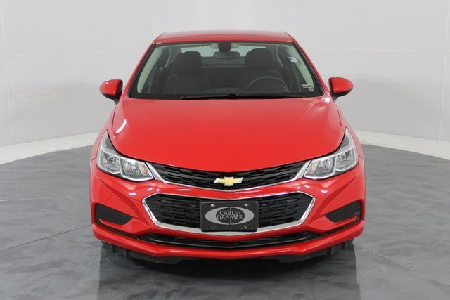 2017 Red Hot Chevy Cruze LS Automatic 4 Door Sedan FWD 1.4L 4-Cylinder Turbo DOHC CVVT Engine