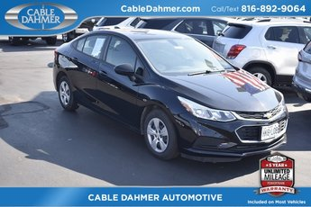 2018 Chevy Cruze LS Sedan Automatic 1.4L 4-Cylinder Turbo DOHC CVVT Engine FWD 4 Door