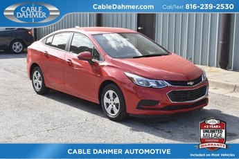 2018 Red Hot Chevy Cruze LS 4 Door FWD Sedan Automatic 1.4L 4-Cylinder Turbo DOHC CVVT Engine