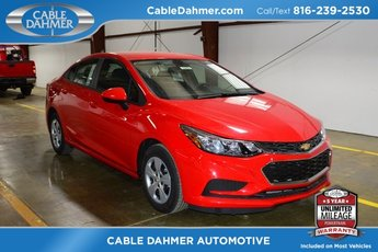 2018 Red Hot Chevrolet Cruze LS FWD 4 Door 1.4L 4-Cylinder Turbo DOHC CVVT Engine
