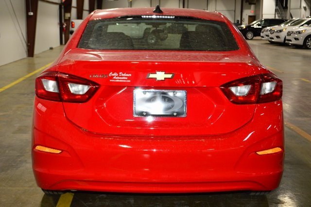 2018 Red Hot Chevy Cruze LS 1.4L 4-Cylinder Turbo DOHC CVVT Engine Sedan Automatic FWD 4 Door