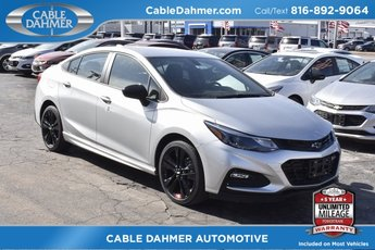 2018 Silver Ice Metallic Chevy Cruze LT FWD Automatic Sedan 1.4L 4-Cylinder Turbo DOHC CVVT Engine 4 Door