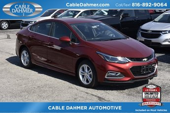 2018 Cajun Red Tintcoat Chevy Cruze LT Sedan 1.4L 4-Cylinder Turbo DOHC CVVT Engine FWD Automatic