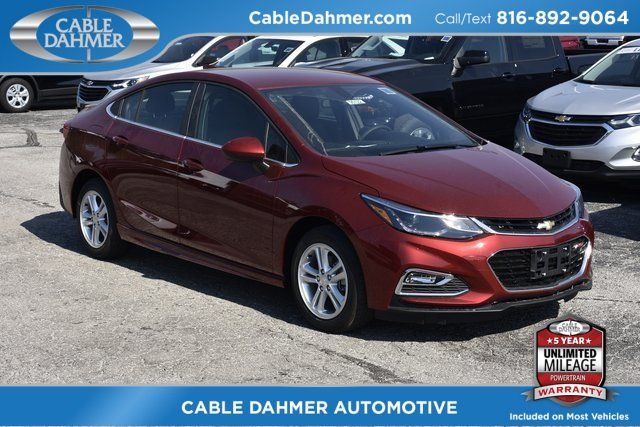 2018 Cajun Red Tintcoat Chevy Cruze LT 4 Door Sedan Automatic