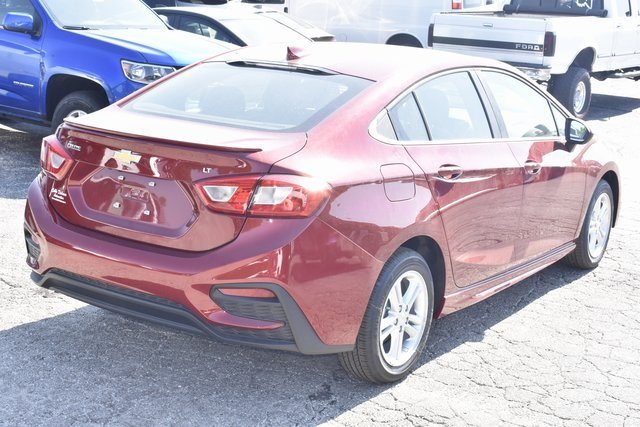 2018 Chevy Cruze LT FWD Automatic 4 Door 1.4L 4-Cylinder Turbo DOHC CVVT Engine