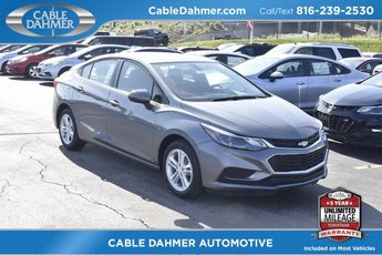 2018 Satin Steel Metallic Chevy Cruze LT FWD 4 Door Sedan Automatic 1.4L 4-Cylinder Turbo DOHC CVVT Engine