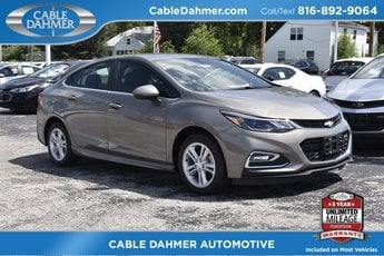 2018 Chevy Cruze LT 4 Door FWD Automatic Sedan 1.4L 4-Cylinder Turbo DOHC CVVT Engine