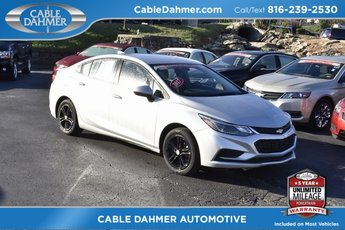 2017 Chevy Cruze LT 4 Door Sedan 1.4L 4-Cylinder Turbo DOHC CVVT Engine