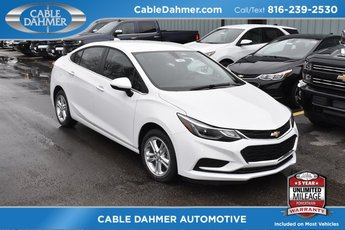 2018 Summit White Chevy Cruze LT 1.4L 4-Cylinder Turbo DOHC CVVT Engine Sedan 4 Door FWD