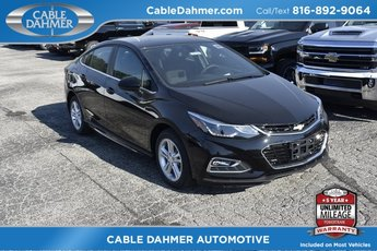 2018 Chevy Cruze LT 1.4L 4-Cylinder Turbo DOHC CVVT Engine 4 Door Automatic FWD Sedan