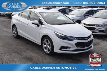 2018 Summit White Chevrolet Cruze Premier 1.4L 4-Cylinder Turbo DOHC CVVT Engine 4 Door FWD Sedan Automatic