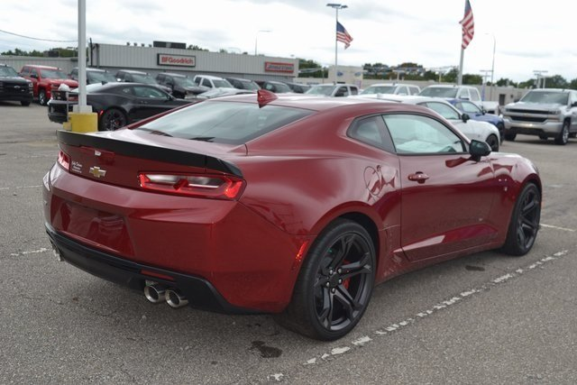 2018 Garnet Red Tintcoat Chevrolet Camaro SS Coupe RWD 6.2L V8 Engine Manual