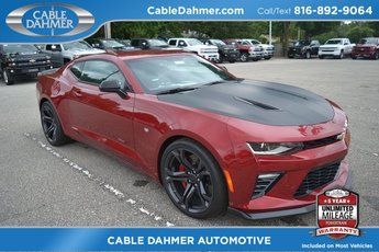 2018 Garnet Red Tintcoat Chevy Camaro SS Coupe 6.2L V8 Engine Manual 2 Door RWD
