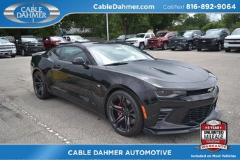 2018 Black Chevy Camaro SS Manual RWD Coupe 2 Door