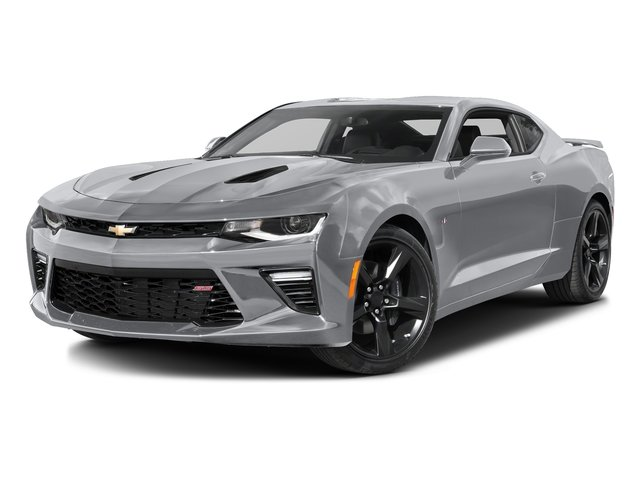 2018 Silver Ice Metallic Chevy Camaro SS RWD 6.2L V8 Engine Coupe 2 Door