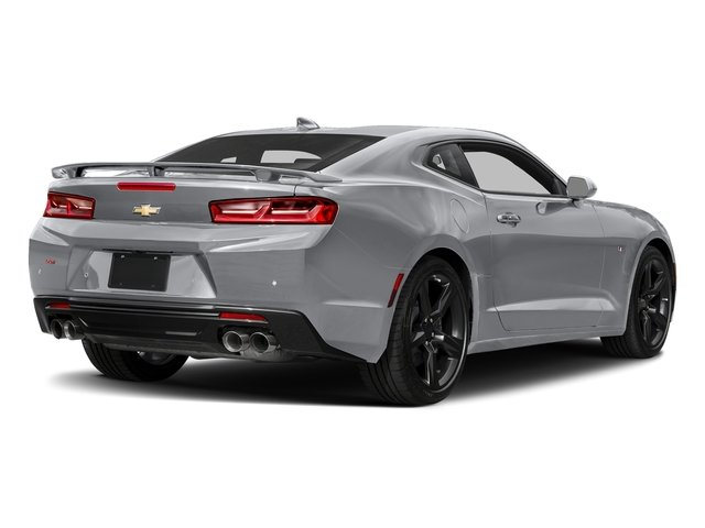 2018 Silver Ice Metallic Chevy Camaro SS 6.2L V8 Engine Manual RWD Coupe