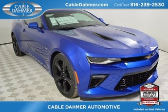 2018 Hyper Blue Metallic Chevy Camaro SS 6.2L V8 Engine Coupe Manual