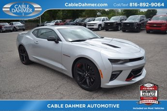 2018 Silver Ice Metallic Chevrolet Camaro SS Coupe Automatic RWD