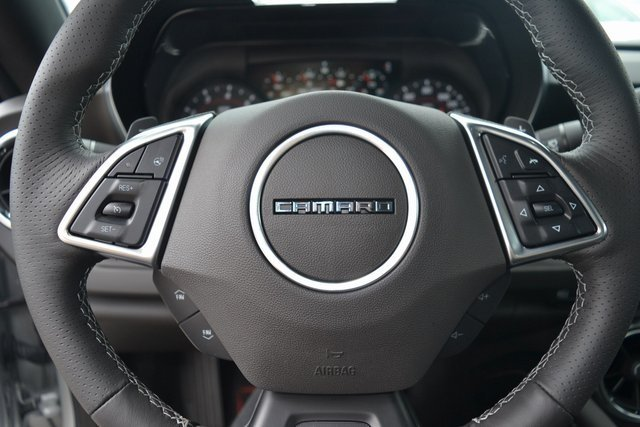 2018 Silver Ice Metallic Chevy Camaro SS Automatic RWD Coupe 6.2L V8 Engine 2 Door