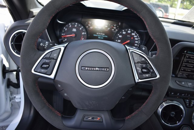 2018 Summit White Chevy Camaro ZL1 2 Door Coupe RWD Automatic