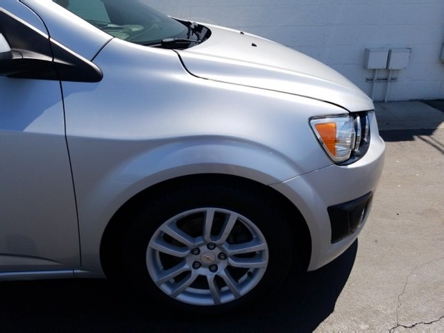 2012 Silver Ice Metallic Chevrolet Sonic LT ECOTEC 1.8L I4 DOHC VVT Engine Automatic 4 Door