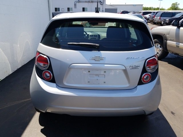 2012 Silver Ice Metallic Chevrolet Sonic LT 4 Door Automatic Hatchback FWD