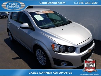2012 Silver Ice Metallic Chevy Sonic LT 4 Door FWD Automatic Hatchback ECOTEC 1.8L I4 DOHC VVT Engine