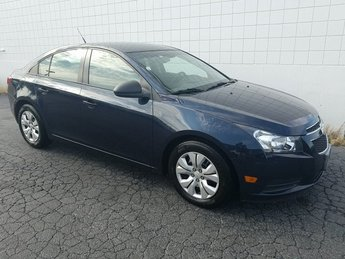 2014 Blue Chevy Cruze LS FWD Sedan ECOTEC 1.8L I4 SMPI DOHC VVT Engine Automatic