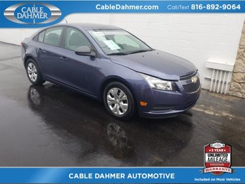 2014 Blue Chevy Cruze LS Sedan FWD 4 Door ECOTEC 1.8L I4 SMPI DOHC VVT Engine Automatic