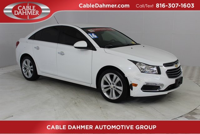 2016 Summit White Chevrolet Cruze Limited LTZ FWD Sedan 4 Door Automatic