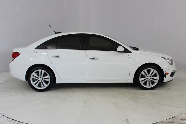 2016 Summit White Chevrolet Cruze Limited LTZ FWD Automatic Sedan ECOTEC 1.4L I4 SMPI DOHC Turbocharged VVT Engine