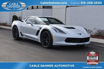 2019 Ceramic White Chevrolet Corvette Z06 1LZ Automatic V8 Supercharged Engine RWD