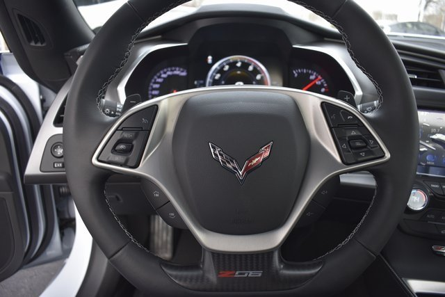 2019 Ceramic White Chevy Corvette Z06 1LZ Automatic V8 Supercharged Engine 2 Door