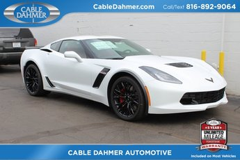 2019 Arctic White Chevy Corvette Z06 1LZ V8 Supercharged Engine Coupe 2 Door Automatic RWD