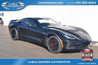 2019 Black Chevrolet Corvette Z06 2LZ RWD Coupe V8 Supercharged Engine
