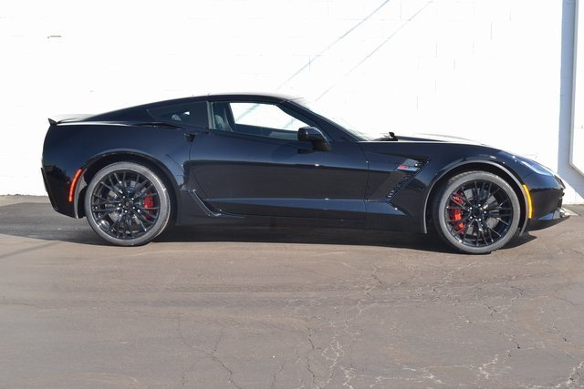 2019 Black Chevy Corvette Z06 2LZ Coupe Automatic RWD 2 Door V8 Supercharged Engine