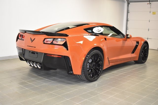 2019 Sebring Orange Tintcoat Chevrolet Corvette Z06 2LZ RWD 2 Door Coupe Automatic V8 Supercharged Engine