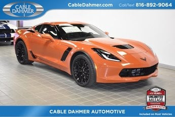 2019 Sebring Orange Tintcoat Chevy Corvette Z06 2LZ Coupe V8 Supercharged Engine Automatic