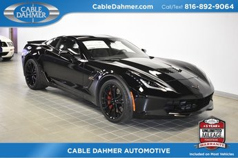 2019 Black Chevy Corvette Grand Sport 1LT Automatic 2 Door 6.2L V8 Engine RWD